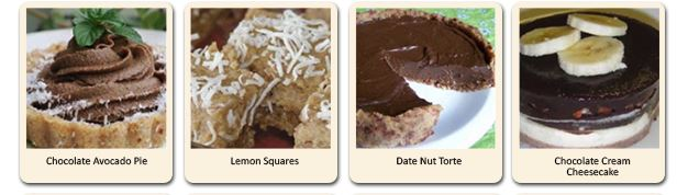 healthy snack and desert alternatives you can make with this recipe book