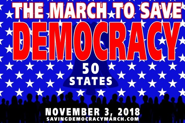 Stand Up For Democracy - Join the March in a City Near You