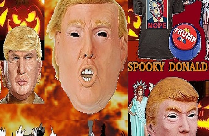 trump-resistance mask costume gag gift
