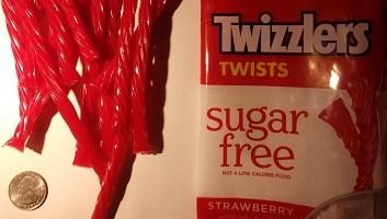 Maltitol sweetened candy