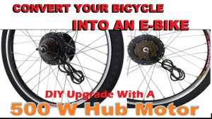 How to convert into an E-Bicycle bike kit