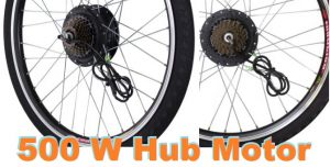 click to look at 500 W electric bike hub wheel drive