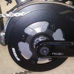 e-bicycle mid drive electric motor