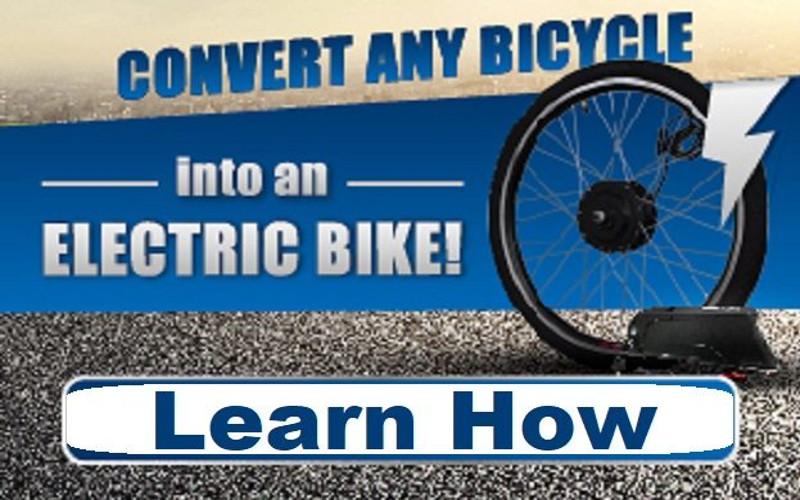 Convert A Bicycle Into An E-Bike