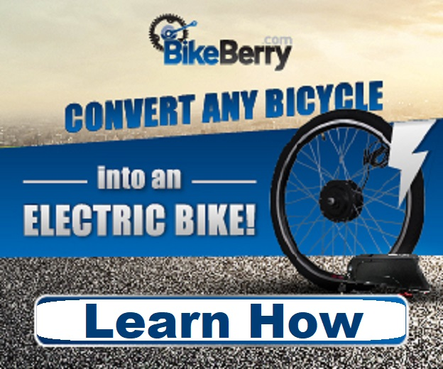 Conversion To Turn A Bicycle Into An E-Bike