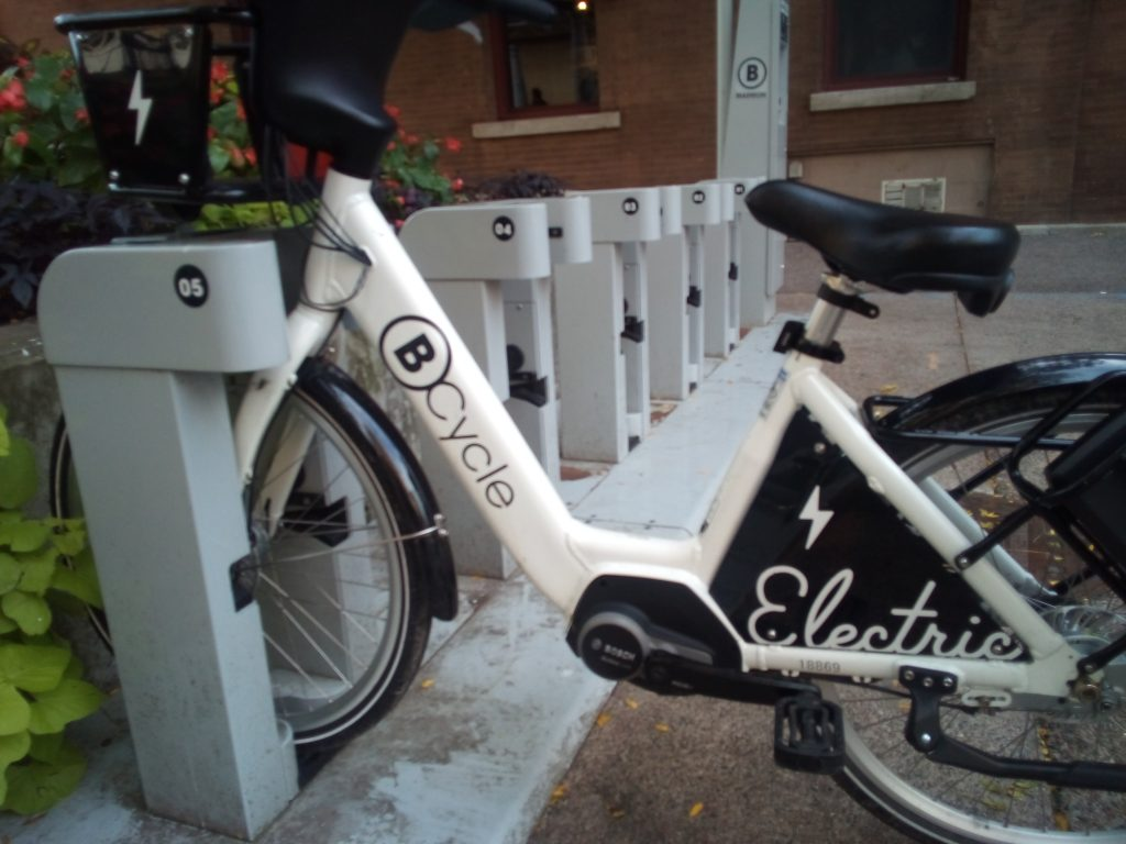 Report On E-Bike Ride Share Availability