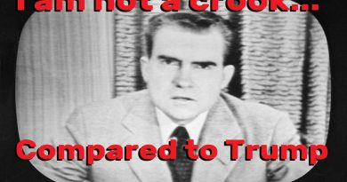 Nixon quit before he got as far as Trump to impeachment and removal