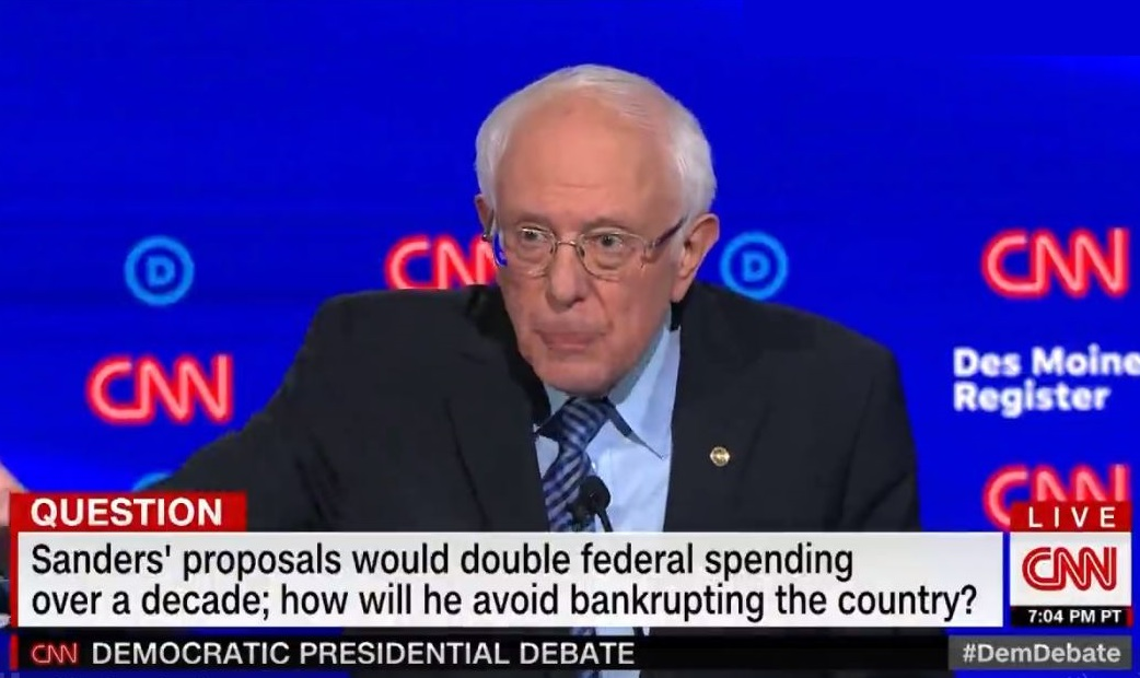 CNN uses Republican talking point in Democratic Debate