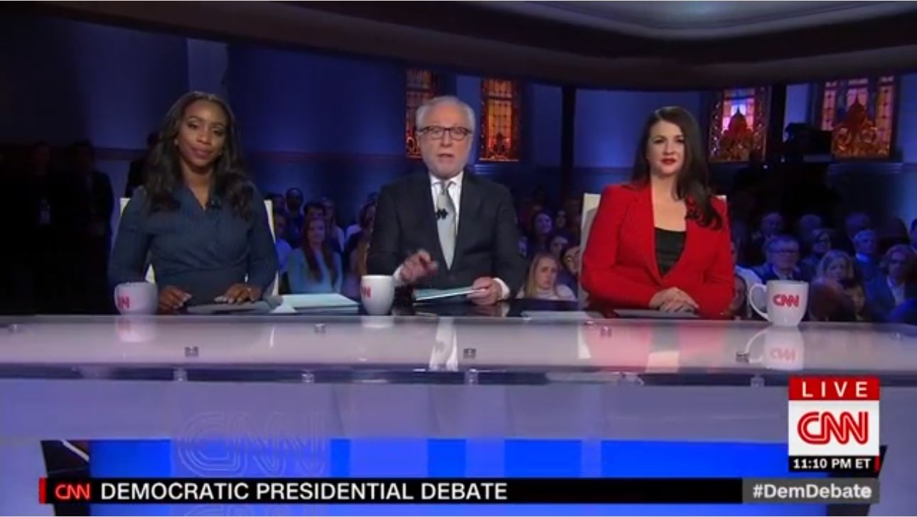 CNN moderators with mixed reviews Democratic debate CNN