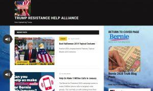 Trump Resistance Blog Posts
