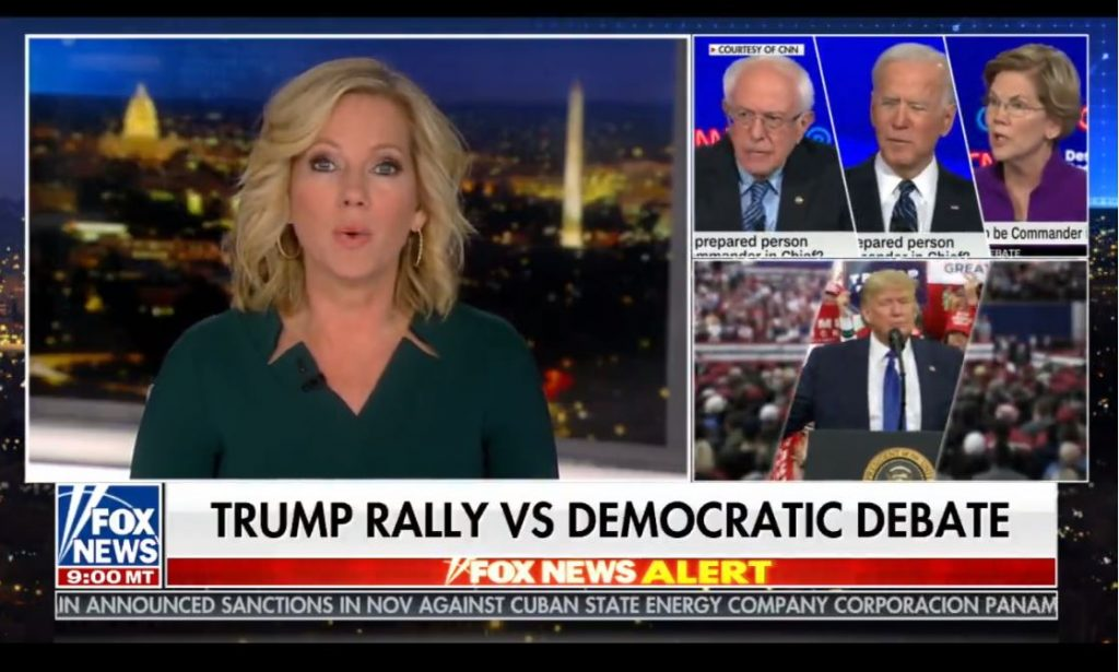 Fox dodged the democrats debate on CNN