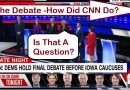 How did CNN do with the Iowa Democratic Debate
