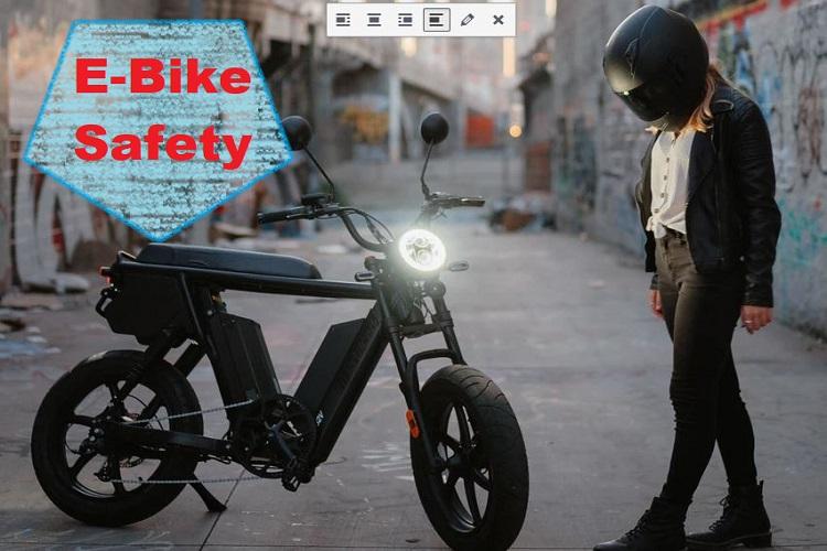 Getting Ready 4 E-Bike Season- Check On Safety