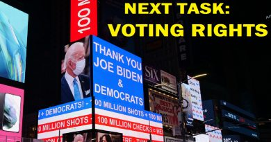 Thank You Joe Biden Now Voting Rights