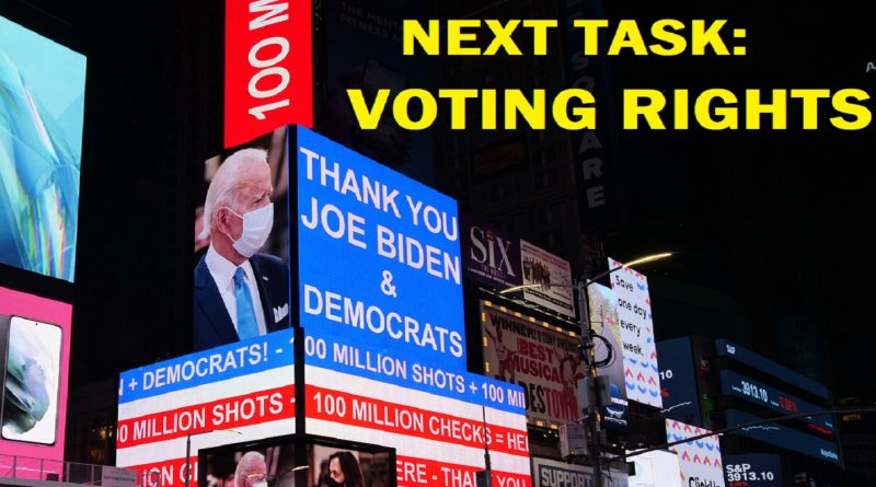 Thank You Joe Biden Now Voting Rights