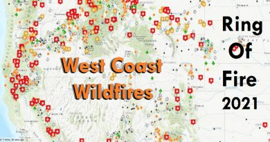 West Coast wildfires are out of control